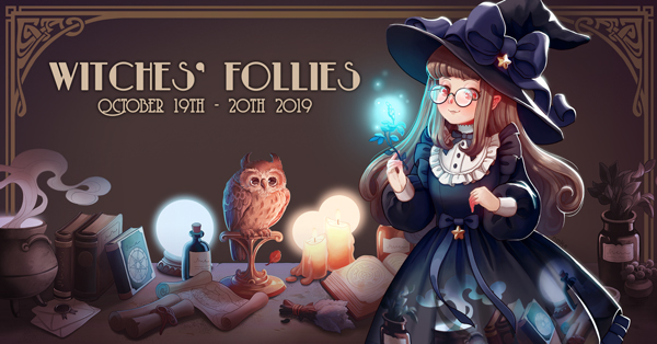 Witches' Follies October 19th, 20th, 2019